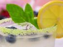 Blåbär Mint Lemonade