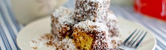 Lamington – Australiensk sockerkaka