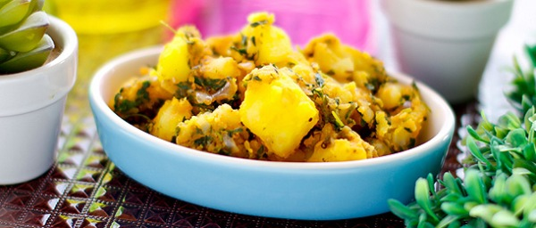 Aloo Methi recept