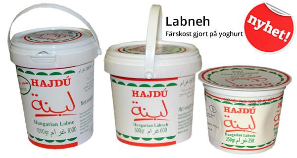 Ungersk Labneh - Färskost gjort på yoghurt