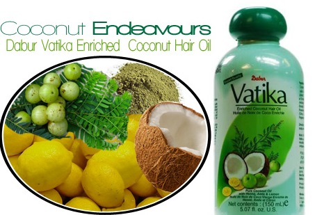 Dabur Vatika Enrihed Coconut Hair oil