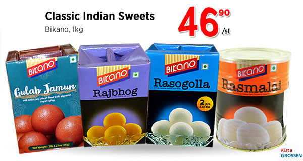 Bicano Classic Indian Sweets