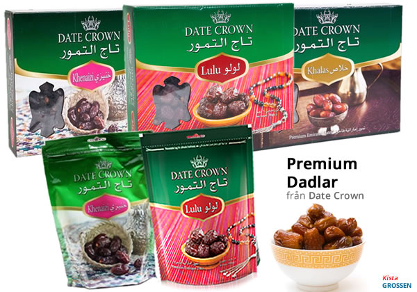 Date Crown dadlar