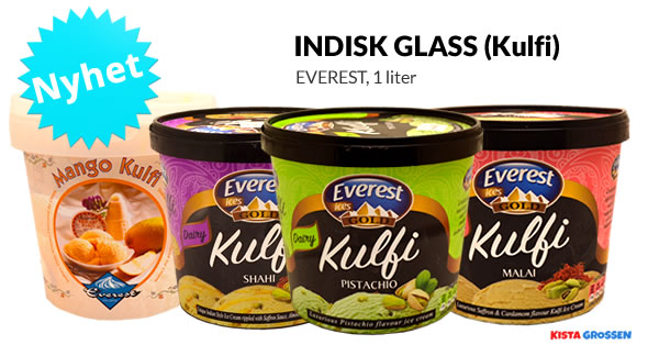 Everest Indisk Glass - Kulfi