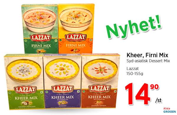 Lazzat Dessert Mix