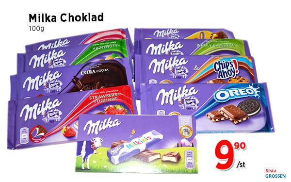Milka Choklad
