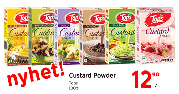 Tops Custard Powder