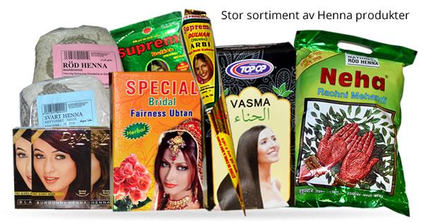 Kista Grossen - Henna produkter