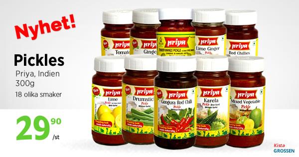 Kista Grossen - Priya Pickles