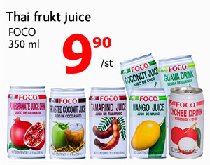 Thai frukt juice