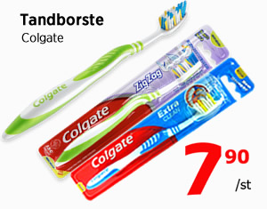 Colgate tandborste