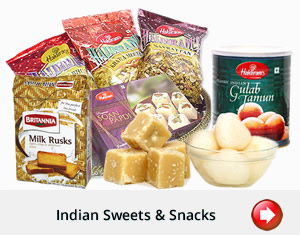 Indiska sötsaker, snacks