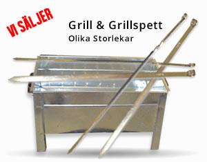 Grill och grillspett