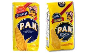 Pan Harina de Maiz Blanco