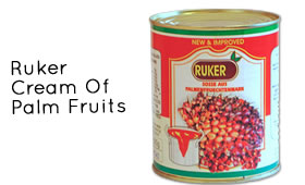 Ruker Cream Of Palm Fruits