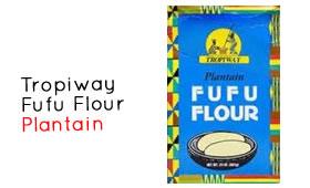 Tropiway Fufu Flour - Plantain