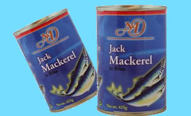 Jack Mackerel in brine