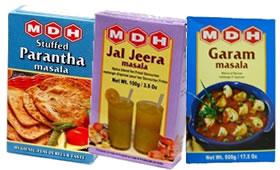 MDH Garam Masala, Jal Jeera Masala, Parantha Masala
