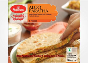 Hadirams Aloo Paratha