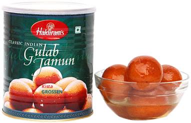 gulab jamun dessert indien