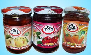 1&1 Iranska marmelader