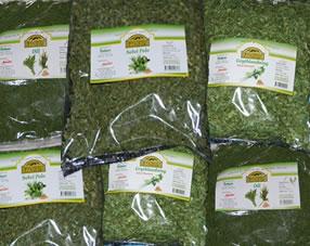 Iranska torkade grönsaker
