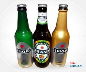 Shams  Alkoholfri öl - آبجوی شمس بدون الکل