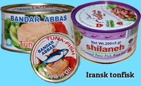 Iransk tonfisk