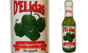 D'Elidas Grön Panamansk Chilisås