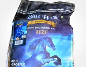 Blue Horse Sella Basmatiris