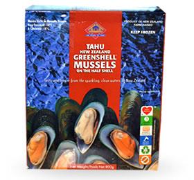 Greenshell Mussles