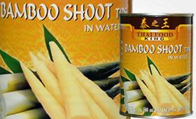 Bamboo Shoot i vatten