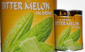 Bitter Melon i saltvatten