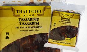 Tamarind med kärnor