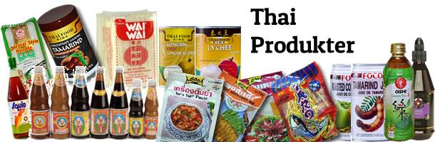Thai & övriga Asiatiska produkter
