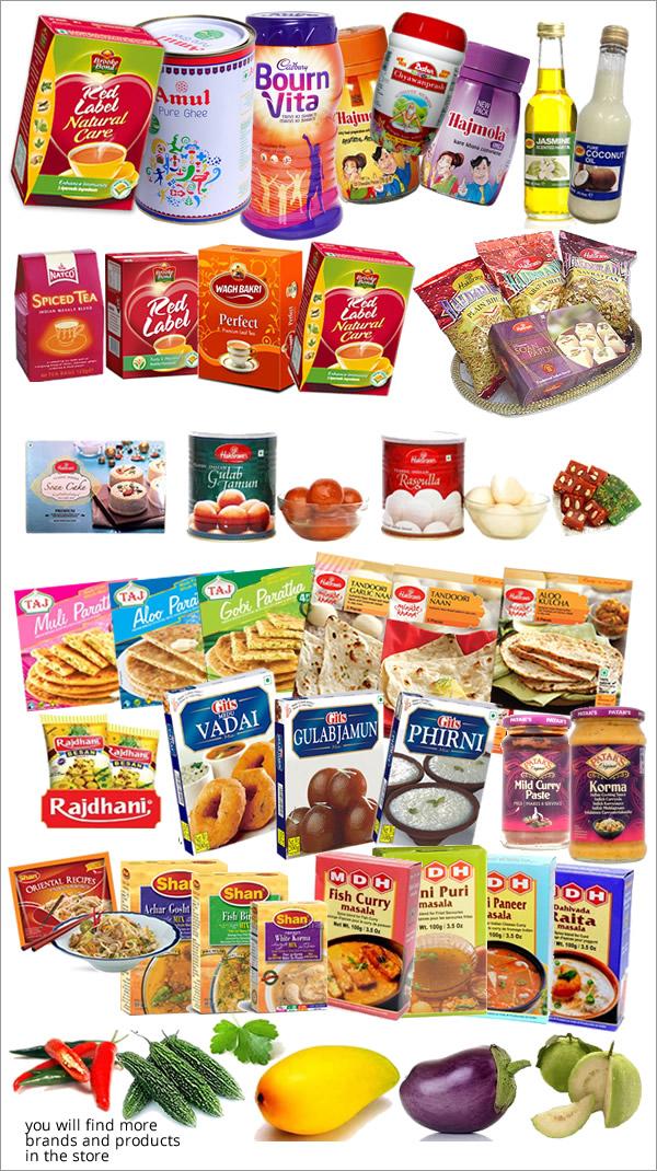 Indiska Produkter
