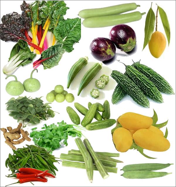 Indiska Frukt och grönsaker
