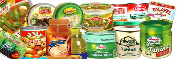 produkter från mellanöstern