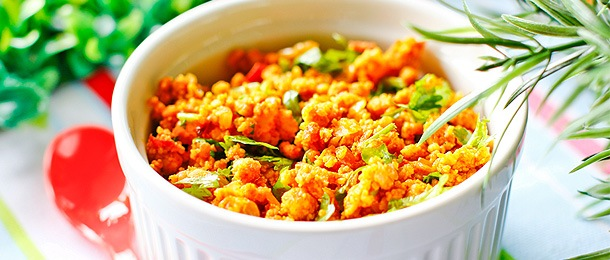 Paneer Bhurji - Stir-fried Paneer