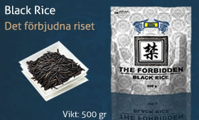 Black rice - Svart ris
