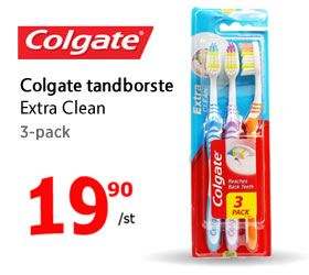 Colagte tandborste 3-pack