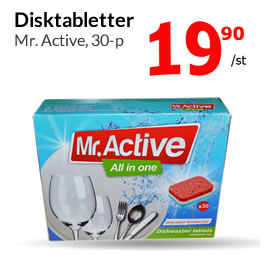 Mr. Active Disktabletter