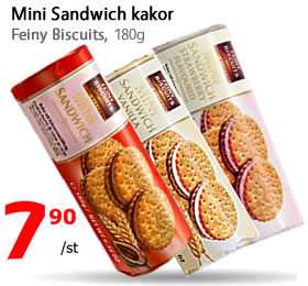 Mini Sandwich - Feiny Biscuits