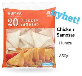 Humza Chickent  Samosa