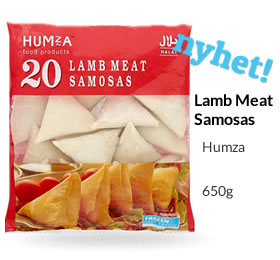 Humza Lamb Meat  Samosas