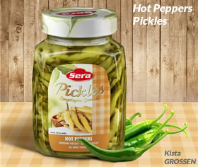 Sera hot peppers