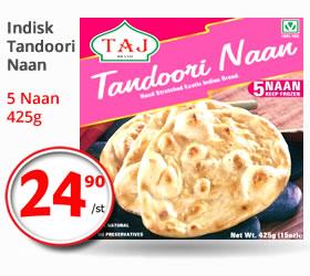 Taj Tandoori Naan